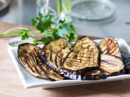 Gegrilde aubergine-plakken Airfryer recipe